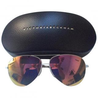 Victoria Beckham Classic Aviator Sunglasses