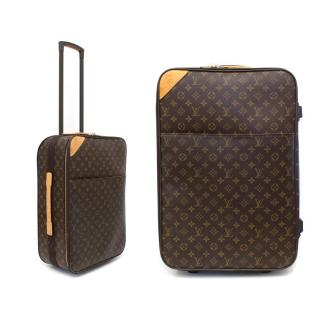 Louis Vuitton Pegase Legere 55 Monogrammed Luggage