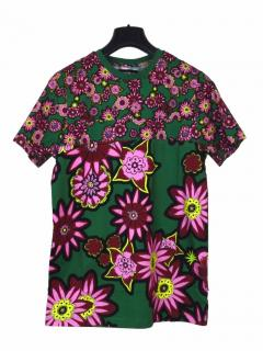House of Holland floral green T-shirt