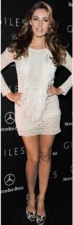 Isabel Marant Mana Fringed Stretch-Lace Dress