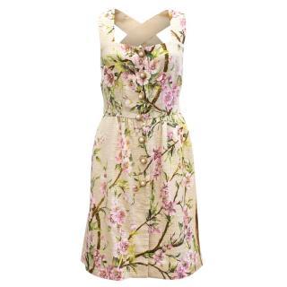 Dolce and Gabbana Floral Print Dress