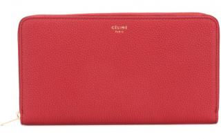 Celine red wallet