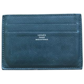 Hermes Leather Card Holder