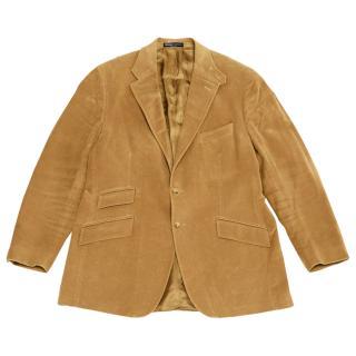 Ralph Lauren men's suede effect cotton jacket
