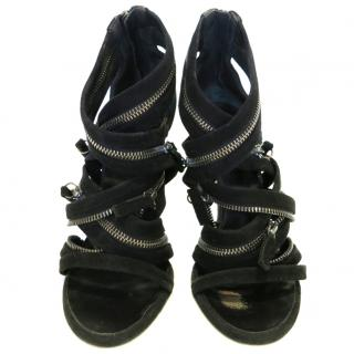 Balmain high heel sandals