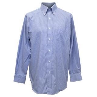Lauren Ralph Lauren Men's Blue Check Shirt