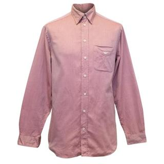 Emporio Armani Men's Red Shirt