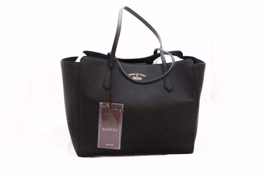 46baf04c348e Gucci Swing Medium Leather Tote | HEWI London