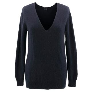 Theory Navy Cashmere Jumper