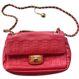 Love Moschino Home Sweet Home chain bag in red