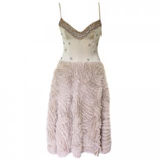Nicola Finetti Embellished Evening Dress