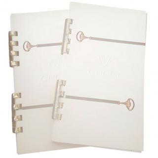 2 x Gucci Note Pads