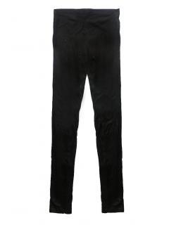 Versace leggings - black leather