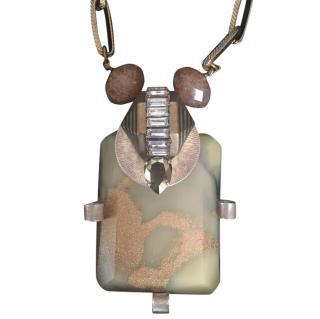 Erickson Beamon Mixed stone costume jewellery necklace