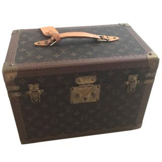 Louis Vuitton vintage vanity case box in canvas monogram
