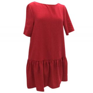 Tara Jamon raspberry dress