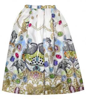 Tibi Printed Skirt