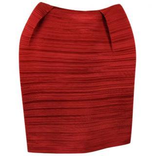 Lanvin Red Skirt