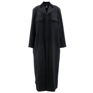 Chanel Black Cashmere Long Coat