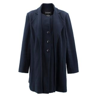 Chanel Navy Coat