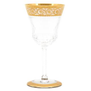 Hermes St. Louis Gold Engraved Thistle Glass