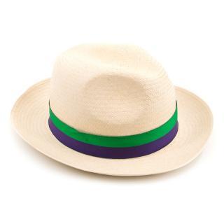 Wimbledon Presat Panama Hat
