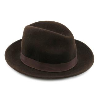 New York Hat Co. Brown Stingy Fedora