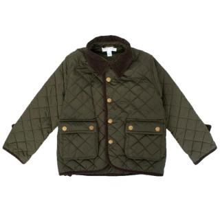 Marie Chantal Kid's Green Riding Jacket