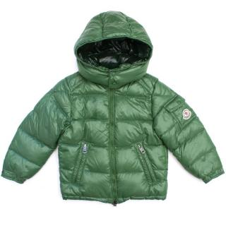 Moncler Kid's Green Coat