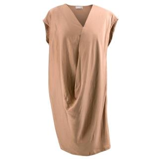 Vionnet Light Copper Dress