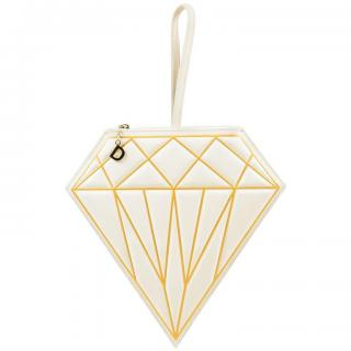 Charlotte Olympia Limited Edition ABC Collection Diamond Clutch