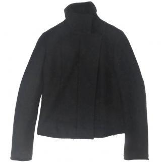 Costume National Black Wool Jacket