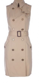 Burberry sleeveless Trench Dress