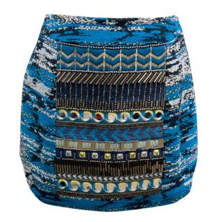 Matthew Williamson Embellished Mini Skirt