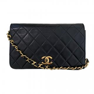 Chanel Brown Reissue Leather Double Flap Bag