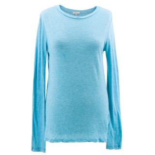 Clu Blue Long Sleeve Top