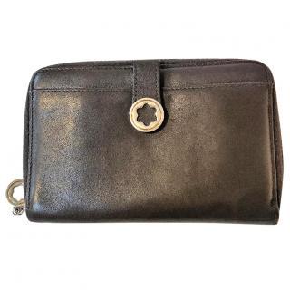 Mont Blanc LadyStar brown leather 4cc zip purse