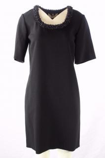 Emilio Pucci, Black Dress with embellishment UK 8