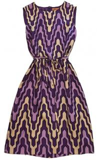 Tory Burch Geometric Silk Dress
