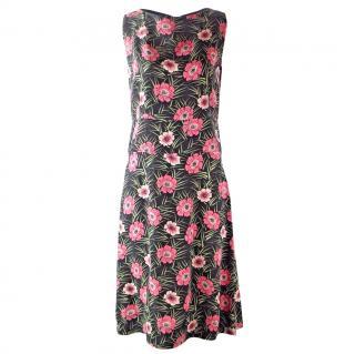 Marni Floral Printed Dress UK 8