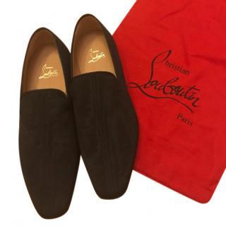 Christian Louboutin Dandelion Black loafers