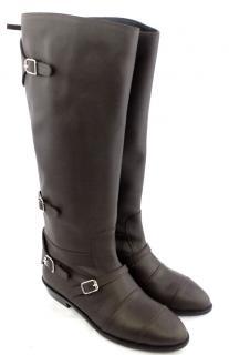 Giuseppe Zanotti Dark Brown Knee Boots