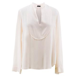 The Row Light Pink Blouse