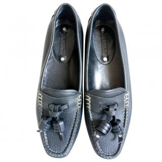 Celine Leather Driving Shoes/Moccasins