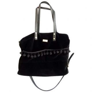 Hunter Velvet Bag with Pouch
