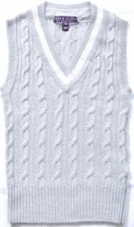 Ralph Lauren Collection runway cashmere cable knit jumper