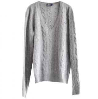 Polo Ralph Lauren Wool/Cashmere Cable Knit Jumper