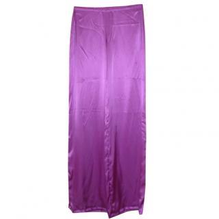Emilio Pucci Silk Trousers