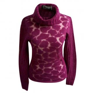 Gianni Versace Couture Angora Wool Jumper