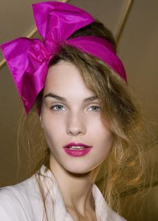 Marc By Marc Jacobs Bow Fuchsia Headband